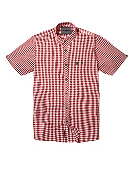 Voi Archer Dark Red Shirt Regular