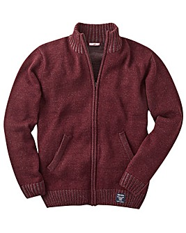 Joe Browns Wool Mix Zip Cardigan