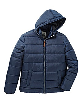 Jacamo Reid Quilted Hooded Jacket
