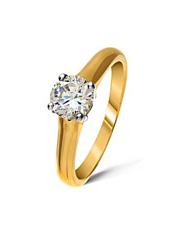 18ct Gold 0.25Ct Diamond Ring