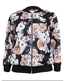 Koko Floral Print Bomber Jacket