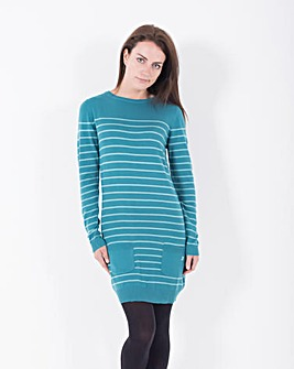 Brakeburn Stripe Jumper Dress