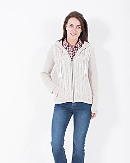Brakeburn Cable Knit Cardigan