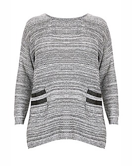 Samya Detailed Knitted Pullover