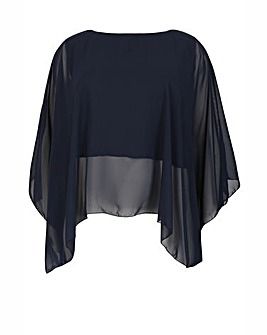 Feverfish Chiffon Cape