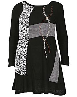 Samya Floral Knit Dress