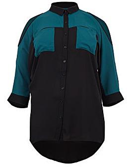 Lovedrobe GB Cold Shoulder Shirt