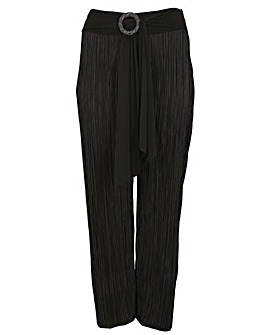 emily Pleated Ring Trousers