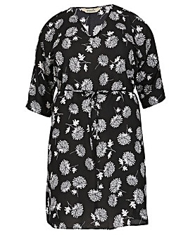 emily Chiffon Print Dress