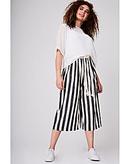 Elvi Striped Culottes
