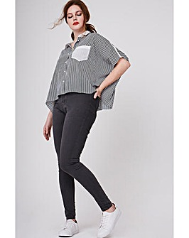 Elvi Striped Box Top
