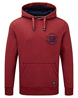 Tog24 Exmoor Mens Deluxe Hoody Badge