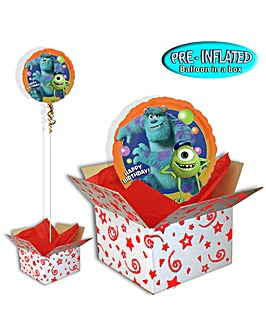 Monsters University Balloon In A Box