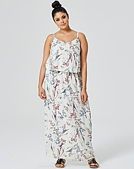 Multi Floral Layer Maxi