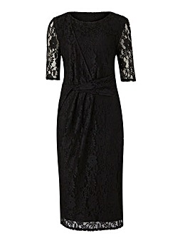 Lace Twist Knot Dress