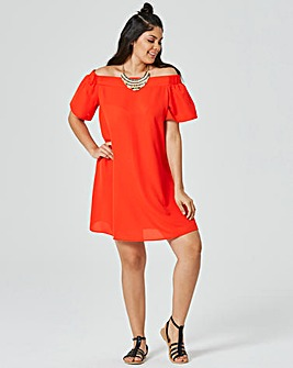 Off The Shoulder Bardot Dress