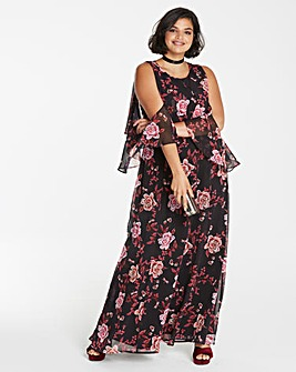 Slip Shoulder Maxi Dress