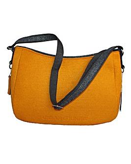 Urban Country Felt Large Zip Shoulderbag