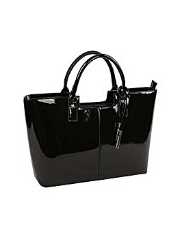 Urban Country Faux Leather Shopper