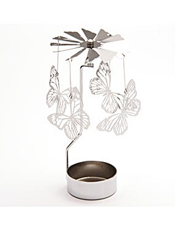Spinning Tealight Holder - Butterfly