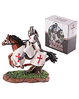 Decorative Knight Figurine on Horseback