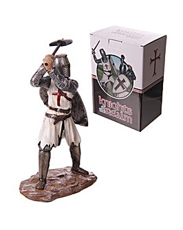 Decorative Knight Figure with Battle Axe