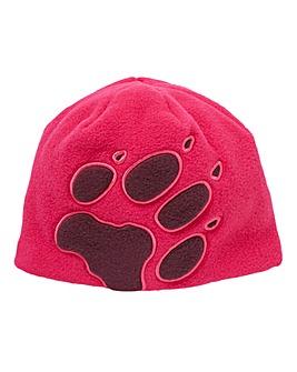 Jack Wolfskin Girls Front Paw Kids Hat