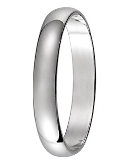 9 Carat Gold Ladies Light Weight Band