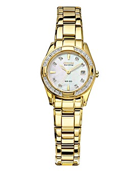 Citizen Diamond-Set Bracelet Watch
