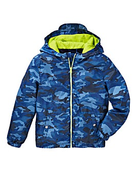 KD Boys Camo Print Coat