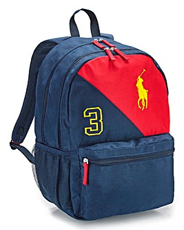 Ralph Lauren Boys Banner Stripe Backpack