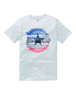 Converse Boys Glitch Chuck Patch T-Shirt