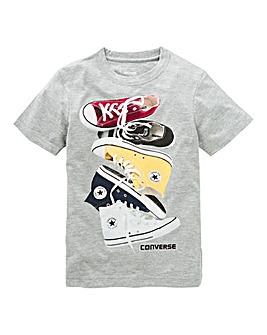 Converse Boys Chucks Stacked T-Shirt