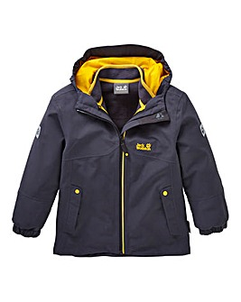 Jack Wolfskin Boys Iceland 3 In 1 Jacket