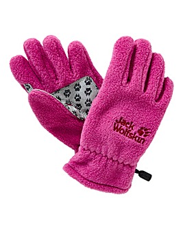 Jack Wolfskin Girls Fleece Gloves