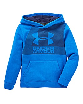 Under Armour Boys Brushed Graphic Hoodie