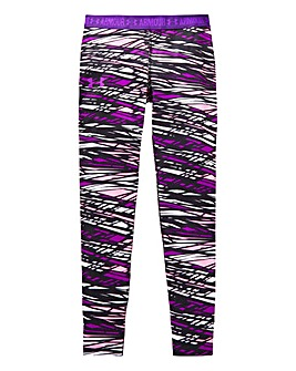 Under Armour Girls Heatgear Printed Legg