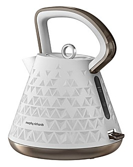 Morphy Richards Prism Kettle White