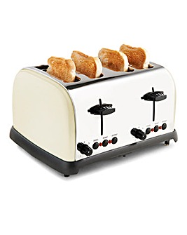 JDW 4 Slice Country Cream Toaster