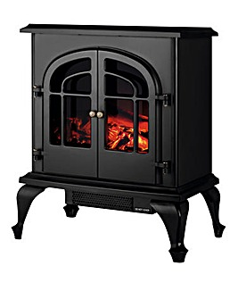 Warmlite 2000W Matt Black Stove