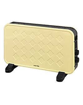Warmlite Retro Convector Heater Cream
