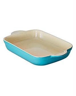 Denby Large Oblong Ceramic Dish Azure