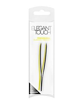 Elegant Touch Slanted Tweezer