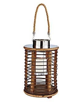 Wicker Style Lantern