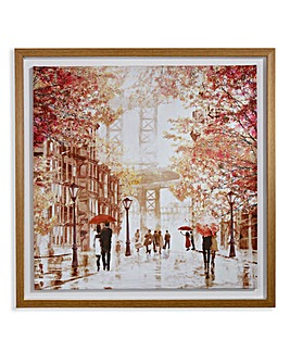 Arthouse Gramercy Park Mounted Canvas