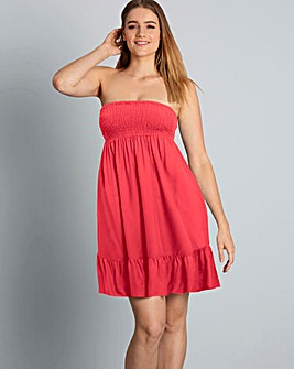 Simply Yours Bandeau Beach Dress