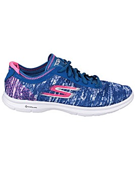 Skechers Go Step Lace Up Sports Shoe