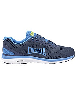 Lisala mens lace up sports trainers