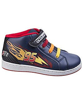Cars Boys Touch Fastening Boot