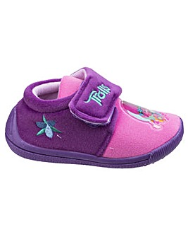 Trolls Girls Touch Fastening Slipper